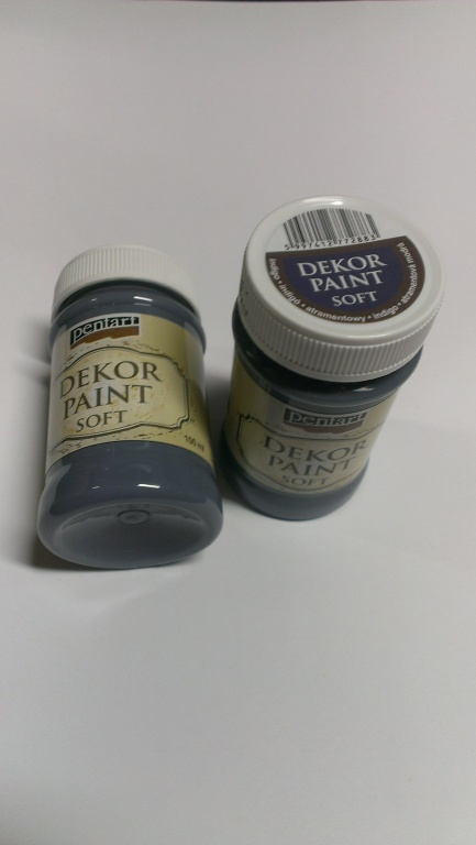Dekor paint soft indigově modrá 100 ml